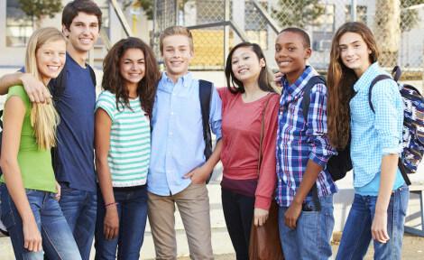 élèves internationaux en échange linguistique