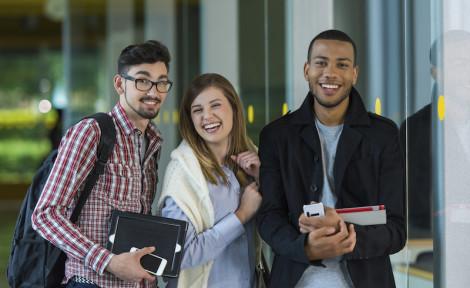 étudiants partis étudier à l'étranger