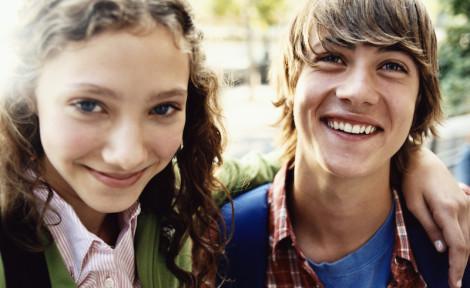 deux lycéens en échange interculturel