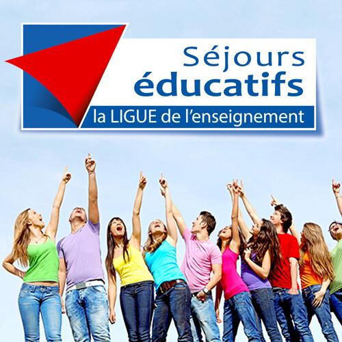 Les séjours éducatifs de la Ligue de l'enseignement