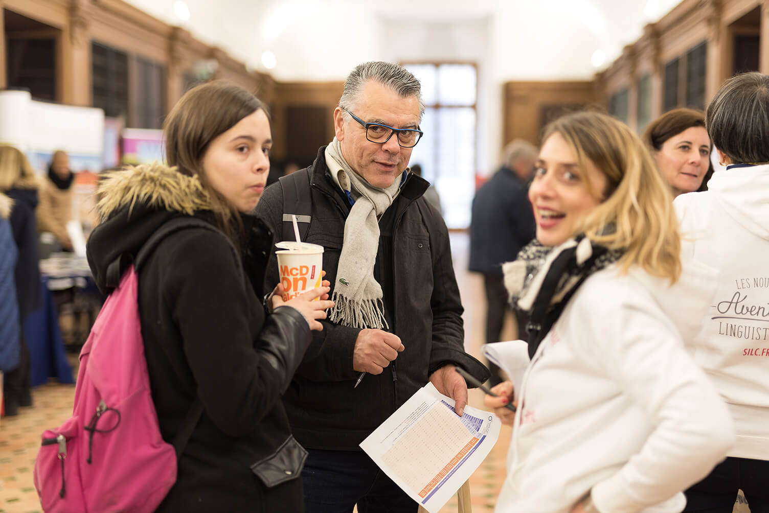 1550 visiteurs au salon des s jours linguistiques et des voyages scolaires du 17 mars 2018 l - Salon sejour linguistique ...